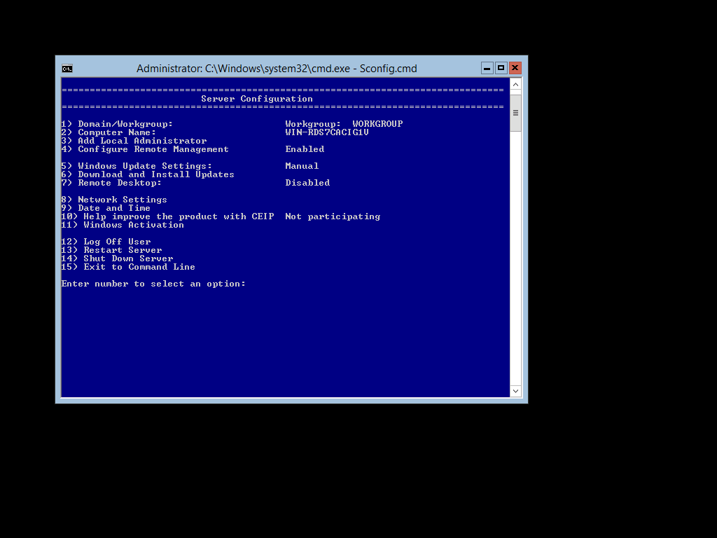 Benefits of a Windows Server 2012 R2 Core installation
